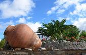 Oude klei potten 3 — Stockfoto