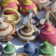 Colorful baskets — Stock Photo
