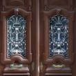 Постер, плакат: Ornate double doors