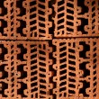 Pattern of Brickwork horizontal — Stock Photo