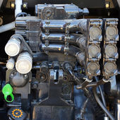 Motor traktoru — Stock fotografie