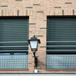 Two windows and lamppost — Stock Photo #30549957