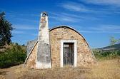 Stone hut - horizontal — Stock Photo