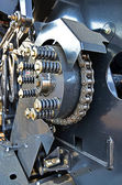 Detail of machine — Stock Photo