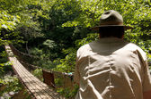 Park ranger reflects — Stock Photo