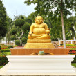 Fat buddha — Stock Photo