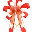 Christmas bow isolated on white — Stock Photo #32323641