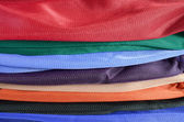 Pile of colorful fabric. — Stock Photo