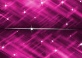 Bright pink background with star glitter abstract — Stock Photo