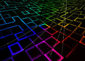 Abstract square mosaic glitter background — Stock Photo