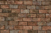 Clay Bricks gruge background — Stock Photo