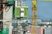 Elevador para la construcción — Foto de Stock