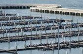 Area boat docks in the bay of Pattaya — Stock Photo