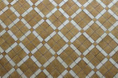 Brown ceramic tiled floor texture background — Stock Photo