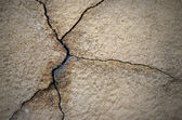 Cracked cement wall, grunge background — Stock Photo