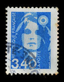 France postage stamp, woman -1990 — Stock Photo