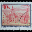 Austria postage stamp, printed 1988 — Stock Photo