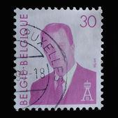 Belgium postage stamp — Stock Photo