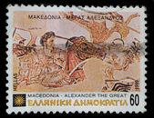ギリシャ郵便切手印刷 1992 — ストック写真