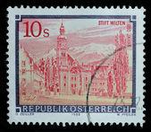 Austria postage stamp, printed 1988 — Stock Photo