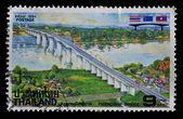 Thailand postage stamp — Photo