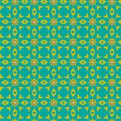 Seamless geometric tiles pattern background — Stock Vector