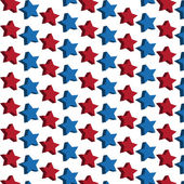 Stars seamless pattern — Vector de stock