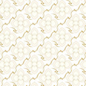 Seamless vector two tone colors floral pattern background — Vector de stock