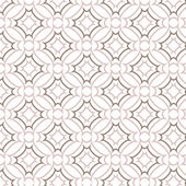 Vector seamless pattern, line and curve vintage style background — Stock vektor