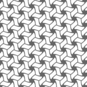 Abstract vector geometrical monochrome seamless pattern backgrou — Stock vektor