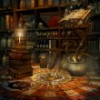 Wizard's study — Stock Photo #12671797