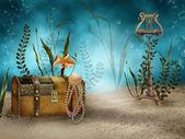 Underwater treasures — Stock Photo