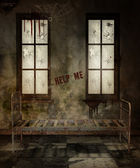 Old asylum room — Stock Photo