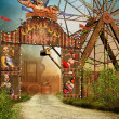Circus entrance — Stock Photo #12751535