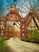 Circus entrance — Stock Photo