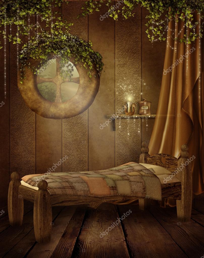 Fairytale Bedroom Stock Photo Fairytaledesign 12831611