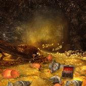 Dragon's cave — Stock Photo