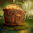 Постер, плакат: Fairytale acorn house