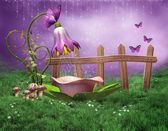 Fairy shower — Stock Photo