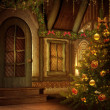 Stock Photo: Christmas cottage
