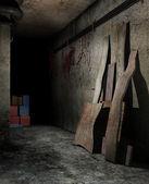Spooky basement — Stock Photo