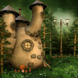 Gnome house in the forest — Stock Photo #13722146