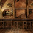 Fantasy tavern interior — Stock Photo #13784521