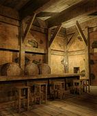 Old fantasy tavern — Stock Photo