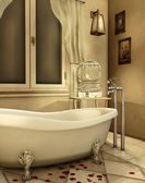 Vintage bathtub — Foto Stock