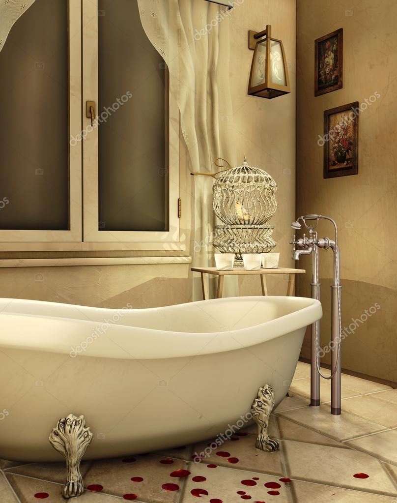 Vasca da bagno depoca foto stock fairytaledesign 13875471 - Cuffie da bagno vintage ...