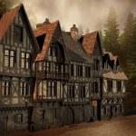 Medieval street — Stock Photo #13895684