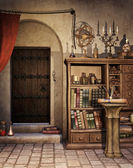Alchemist's study — Stock Photo
