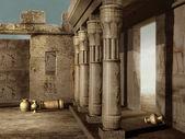 Ancient Egyptian ruins — Stock Photo