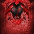 Royalty-Free Stock Photo: Gothic Valentine heart